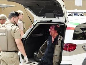 Ex-dirigentes de clube de futsal feminino lutou com reféns após matar  técnico em SC (Foto: Phoca ribeiro/ cacador online )