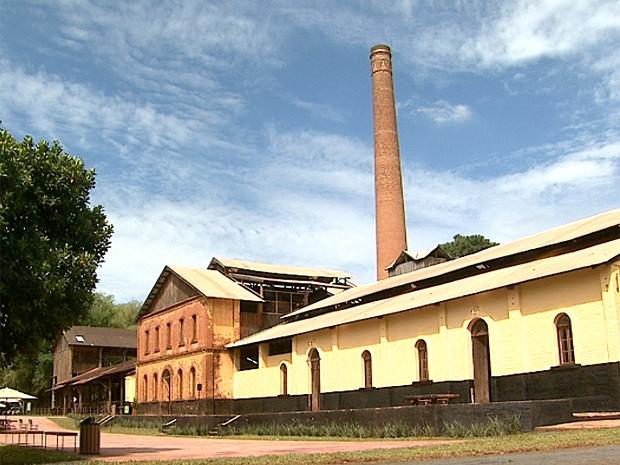 Complexo do Engenho Central de Pontal abriga o museu nacional (Foto: Ronaldo Gomes/ EPTV)