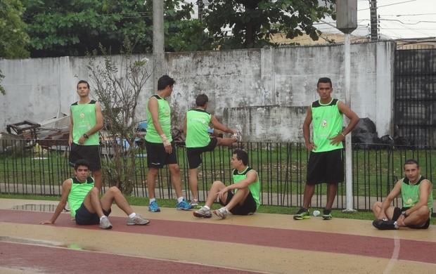teste arbitragem do Pará (Foto: Globoesporte.com)
