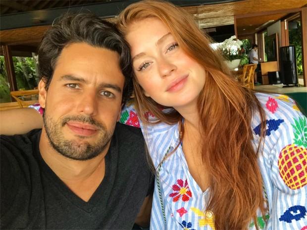 Xande Negrão e Marina Ruy Barbosa (Foto: Reprodução/Instagram)