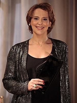 Ana Beatriz Nogueira diz que aprendeu com Rachel (Foto: Salve Jorge/TV Globo)