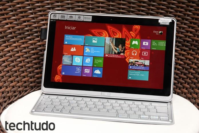 Configuração de hardware não consegue entregar um desempenho completo a ponto de substituir um notebook (Foto: Luciana Maline/TechTudo)