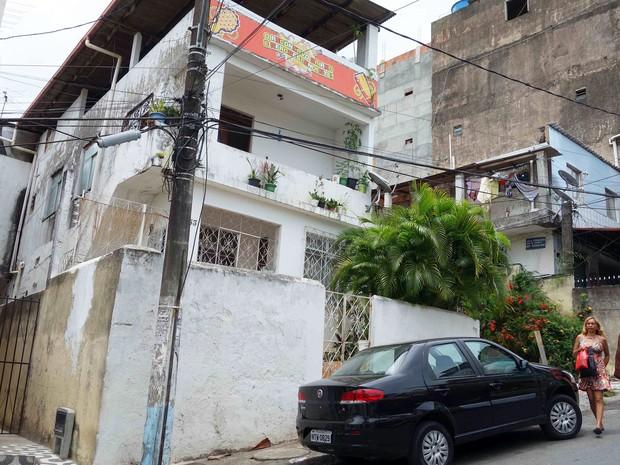 Terreiro no bairro do Curuzu (Foto: Egi Santana/G1)