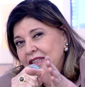 Roberta sobre avião: ' Faço um escândalo' (Reprodução/ TV Globo)