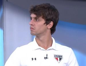 """Rodrigo Caio defende Denis, revela conversas e afirma: """"Ele é de grupo"""""""