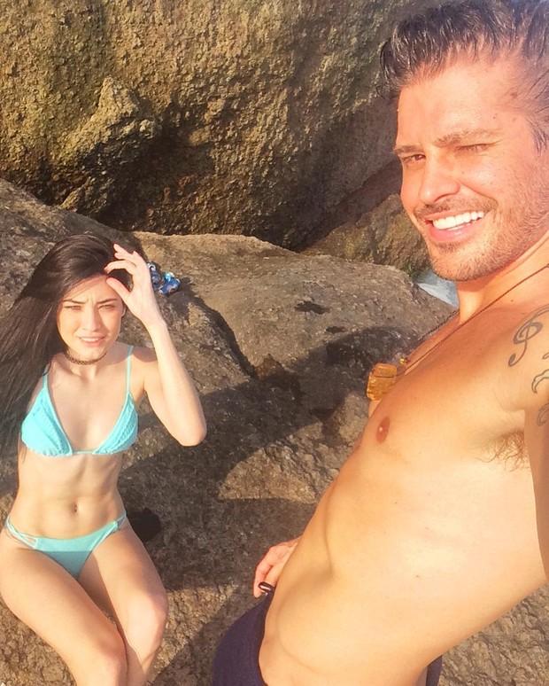 Dado Dolabella e Gabe Pascoal (Foto: Reprodução/Instagram)