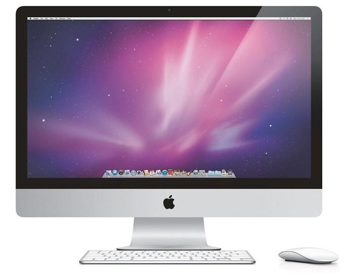 iMac é um tudo-em-um mais tradicional da Apple (Foto: Divulgação)