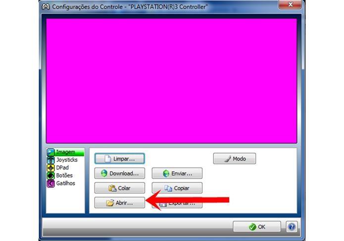 Ao clicar nessa opção, o Xpadder vai abrir imagens de vários controles, escolha o mais parecido com o seu (Foto: Reprodução / Dario Coutinho)