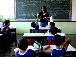 Professora sala de aula (Foto: Reprodução)