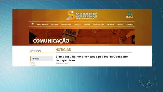 Prefeitura de Cachoeiro quer pagar R$ 33 a mais que o salário mínimo para novos médicos