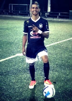 Yuri Brum fez 3 gols pelo Rio Branco contra o Feras e foi o artilheiro da 1ª rodada das quartas de final do Capixaba de futebol 7 (Foto: Reprodução/Instagram)