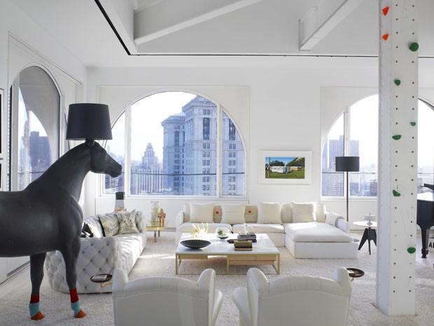 Apartamento tem escorregador gigante e outras surpresas (Foto: Eric Laignel/Divulgação)