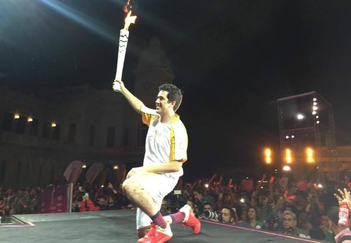Rogerio Flausino tocha  Belo Horizonte (Foto: Divulgação/Rio 2016)