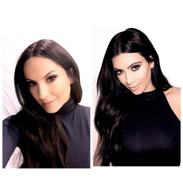 Claudia Leitte mostra fantasia e se compara a Kim Kardashian (Foto: Instagram)
