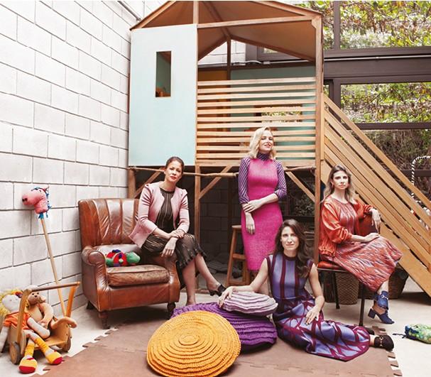 Mães SA - abre (Foto: marcelo salvador)