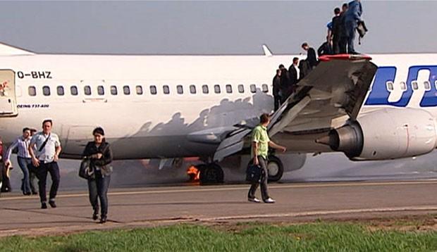 Ninguém ficou ferido (Foto: BBC)