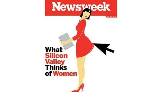 Capa foi considerada por internautas como sendo 'desrespeitosa' e 'horrível' (Foto: Newsweek)