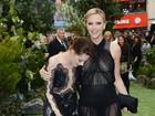 Kristen Stewart se enrola com vestido em pré-estreia em Londres