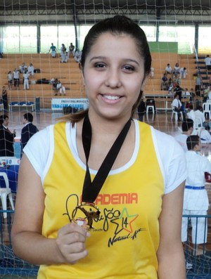 Caroline de Lima é campeã brasileira (Foto: Arquivo Pessoal)