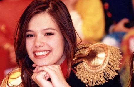Graziella Schmitt estreou como paquita, em 1995 Arquivo