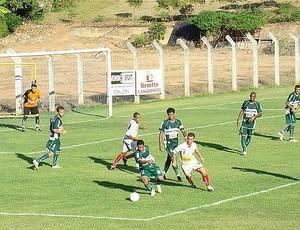 Equipe do Pinheiros disputou a Copa ES 2010 (Foto: Divulgação/Vilavelhense FC)
