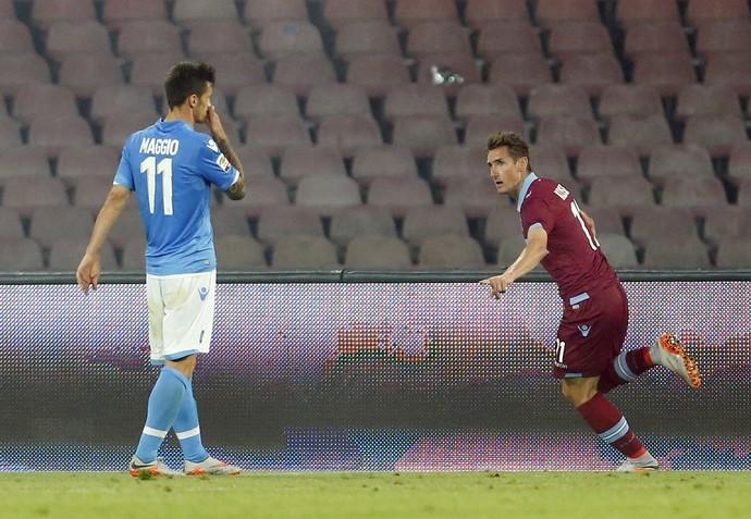 Klose gol Napoli Lazio (Foto: Reuters)