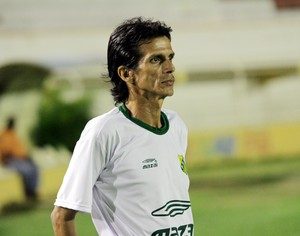 Iedo Morgado, técnico do Estanciano (Foto: Marcos Borges)