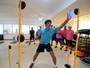 Goleiros do time de Luxa conhecem treino de luzes para aprimorar reflexo