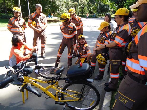 A partir da próxima segunda, motorista que desrespeitar cilista será multado (Foto: Divulgação/Bicicreteiro.org)