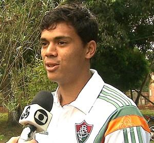 Matheus Pato Fluminense (Foto: Reprodução/Rede Amazônica Acre)