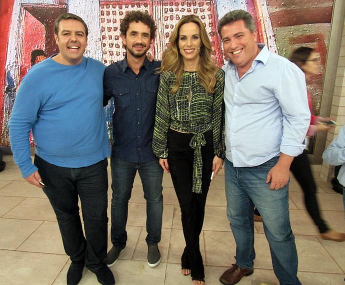 Mais convidados do programa nos bastidores  (Foto: Paula Santos/Gshow)