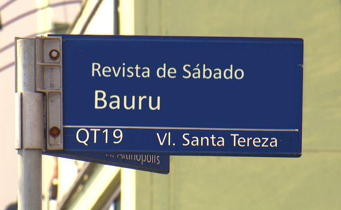 Revista de Sábado visita a cidade de Bauru (Foto: Reprodução / TV TEM)