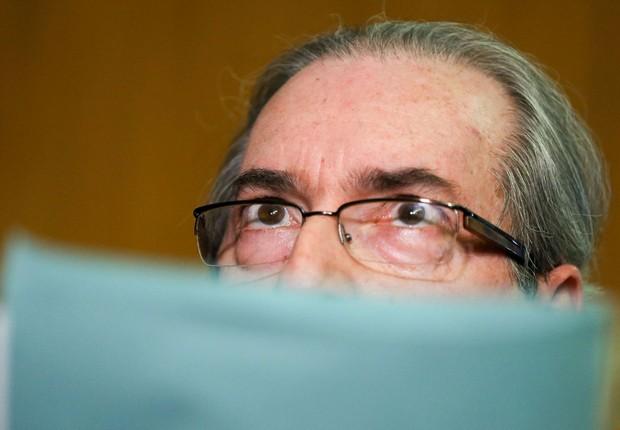 O presidente afastado da Câmara dos Deputados, Eduardo Cunha (PMDB-RJ) (Foto: Marcelo Camargo/Agência Brasil)