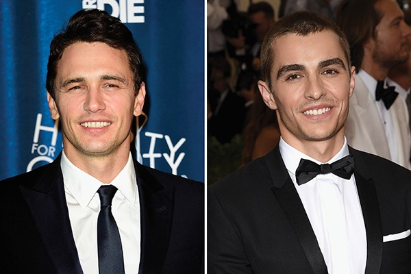 James e Dave Franco (Foto: Getty Images)
