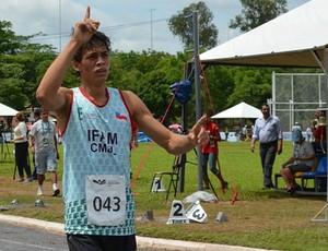 Franklin, Amazonas nas Olimpíadas Escolares 2012 (Foto: Emanuel Mendes Siqueira/Sejel)