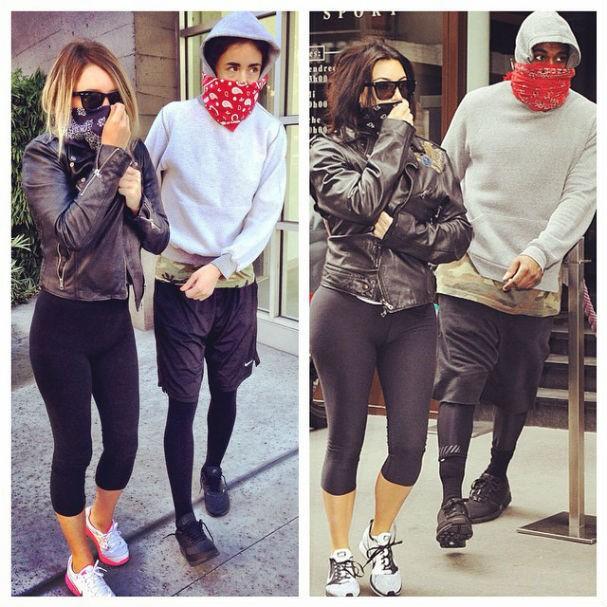 tumblr divertido reproduz fotos de kim kardashian e kanye