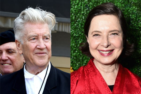 David Lynch e Isabella Rosselini (Foto: Getty Images)
