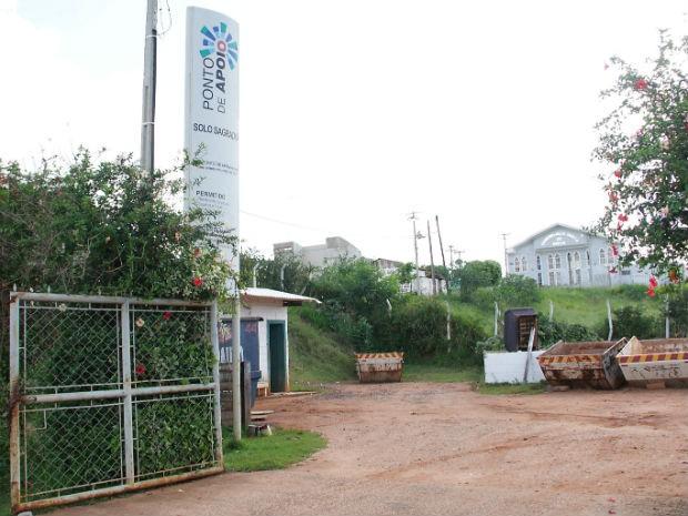 Um dos pontos de apoio fica no bairro Solo Sagrado (Foto: Divulgação)