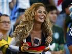 Torcedora da Alemanha refaz gesto de Larissa Riquelme e chama atenção