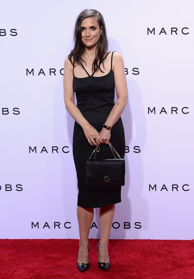 Winona Ryder em evento de Marc Jacobs (Foto: Getty Images)