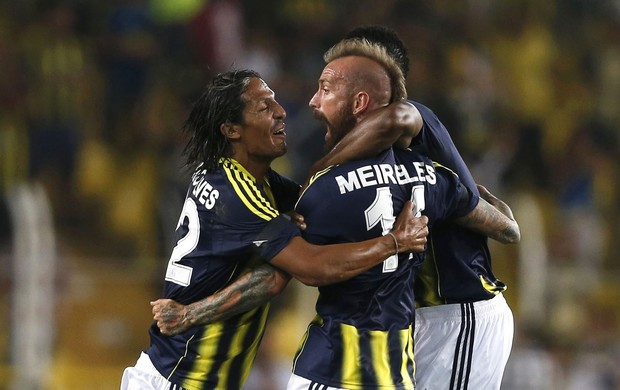 Raul Meireles gol Fenerbahçe (Foto: EFE)