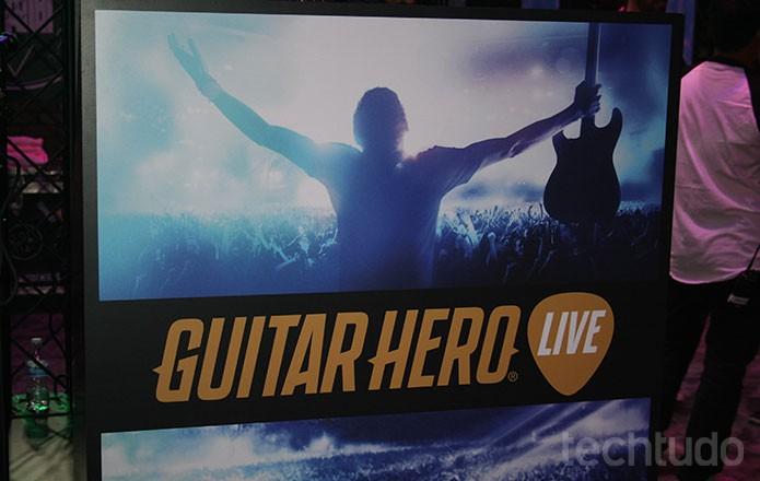Guitar Hero Live (Foto: Felipe Vinha / TechTudo)
