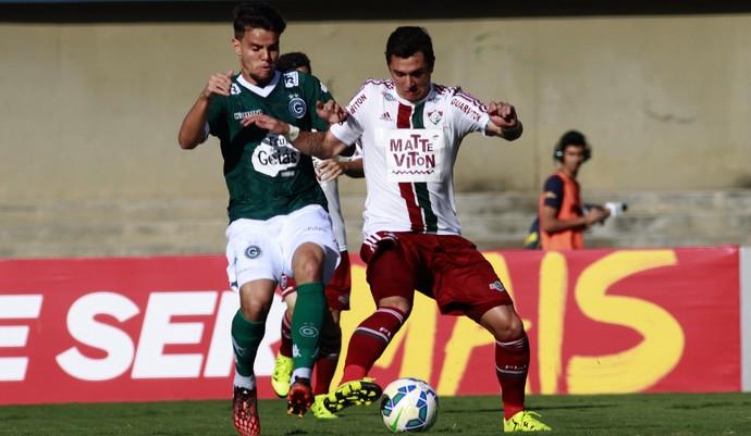 Vinícius Goiás x Fluminense (Foto: Nelson Perez / Fluminense FC)