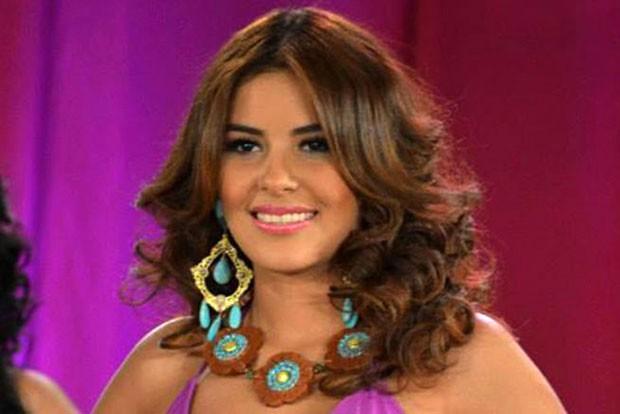 Foto sem data mostra  Maria Jose Alvarado, Miss Honduras Mundo 2014; jovem e sua irmã desapareceram na última quinta-feira (13) (Foto: AFP)