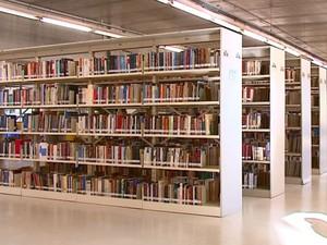 Biblioteca da UFSCar (Foto: Reprodução/EPTV)