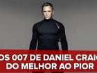 Daniel Craig e seu 007: G1 analisa os quatro filmes estrelados pelo ator