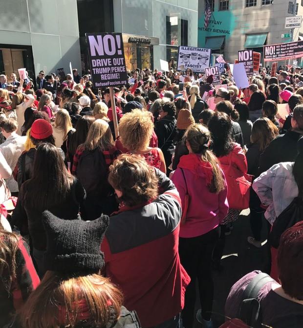Em Nova York, nos Estados Unidos (Foto: Paula Perim/ Editora Globo)