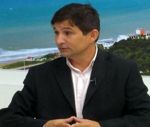 Major Castelo Branco explicou como acontece a saída provisória para presos do RN  (Foto: Reprodução/Inter TV Cabugi)