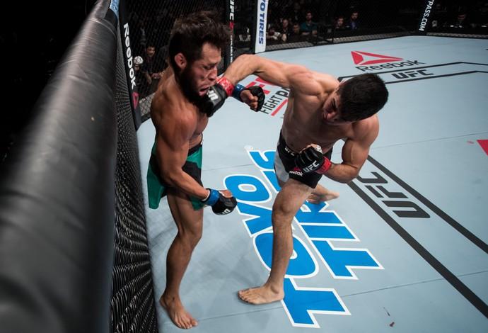 Vicente Luque Hector Urbina UFC Brasília (Foto: Getty Images)
