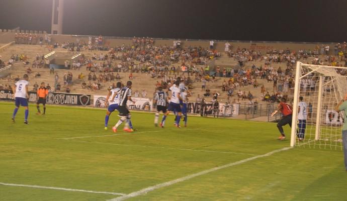 Botafogo-PB x CSP (Foto: Juliana Bandeira/GloboEsporte.com/pb)
